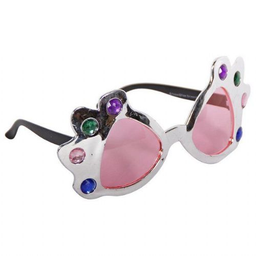 Party Glasses Bright Stones Retro 50s 60s Dimonique Shades Sunglasses